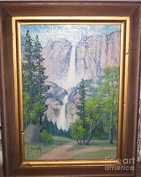 Yosemite Falls by Marie Dorothy Dolph