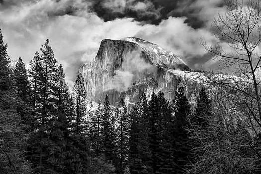 Kevin Reilly - Yosemite Half Dome and Clouds