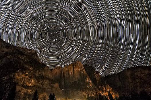 Yosemite Star Trail 2x3 by Keith Marsh