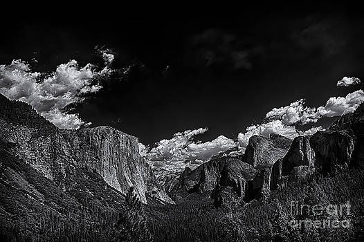 Yosemite Valley BW 1 by David Doucot