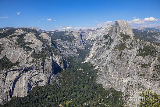 Yosemite Valley from Glacier Point by Jill Bell