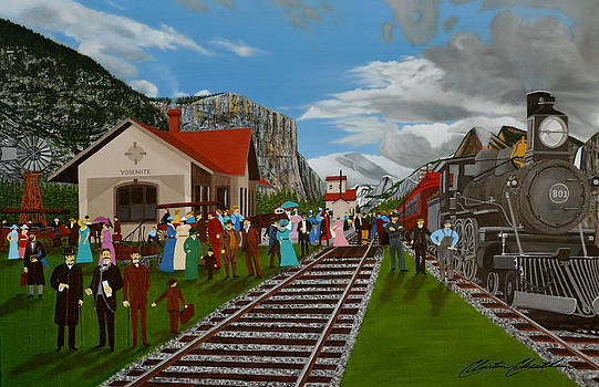 Yosemite Valley Train by Clinton Cheatham