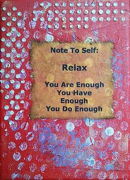 You Are Enough - 4 by Gillian Pearce