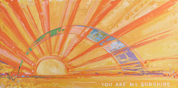 You Are My Sunshine by Azhir Fine Art
