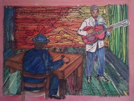 young B B King audictioning by Kalikata MBula