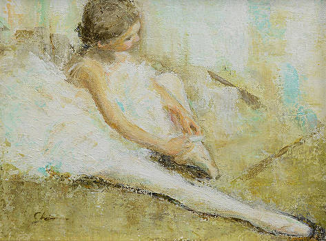 Young Ballerina 2 by Chisho Maas