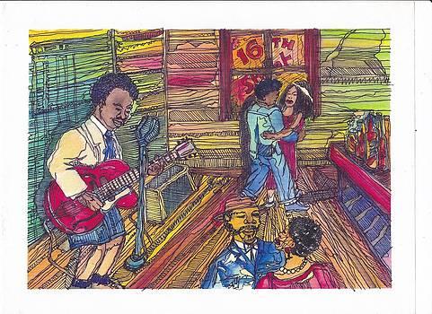 Young B.b. King by Kalikata MBula