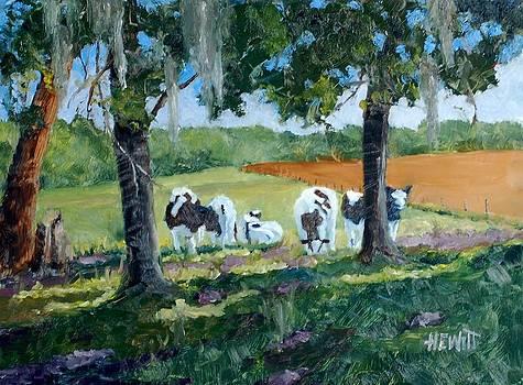 Young Bulls by Philip Hewitt