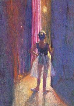 Young Dancer In The Wings by Jackie Simmonds