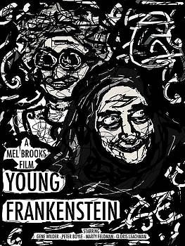 Young Frankenstein Poster Design by Rachel Scott