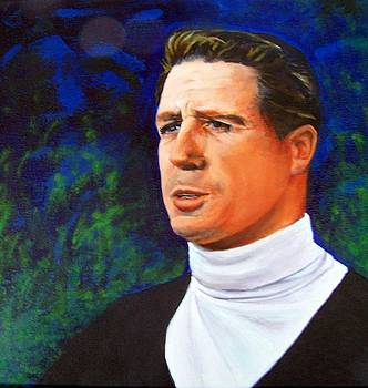 Young Gary Player by Maureen Ghetia