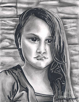 Young Girl- Shan Peck Contest by Samantha Geernaert