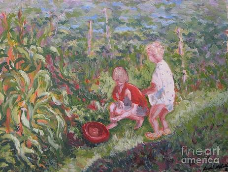 Young Harvesters by Laurel Anderson-McCallum