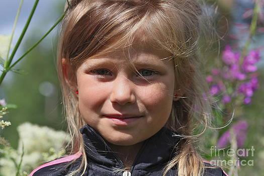 Young Lady - Sweden. by  Andrzej Goszcz