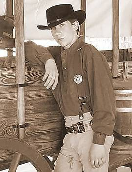 Cindy New - Young lawman - sepia