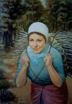 Young Farmer by Laila Awad Jamaleldin