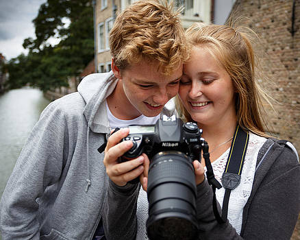 Young photographers by Paul Indigo