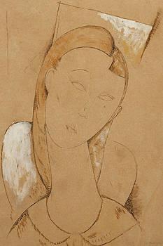 Amedeo Modigliani - Young Woman  Giovane Donna