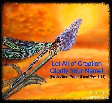 Your Creation Looks toward  the Heavens  by Kimberlee Baxter