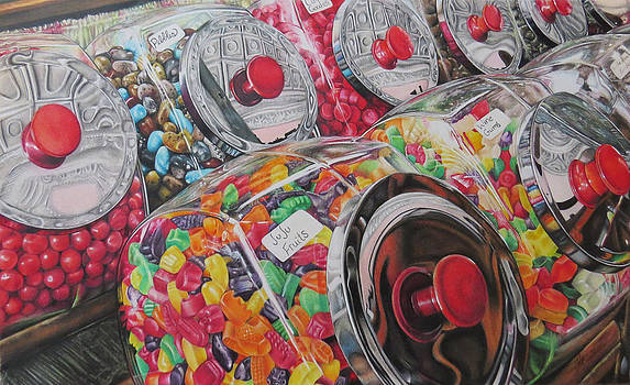 You're thinking about candy now. by Tara Aguilar