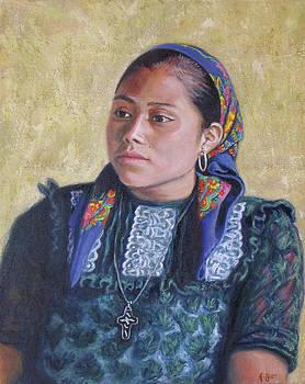 Youth from San Bartolome Quialana by Judith Zur