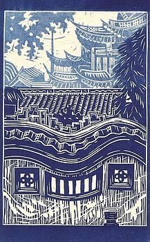 Yu Garden Rooftops by Jennifer Harper