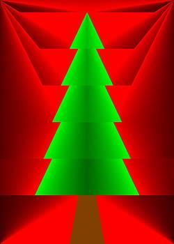 Yuletide Tree Two by Joel Kahn