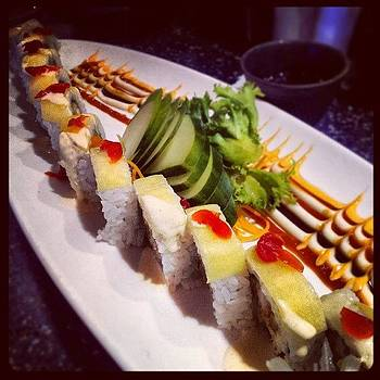 #yummy #sushi #cherries #love by Mandy Shupp