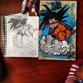 yung Goku -staxxx. #dbz #goku by Darius Wilson