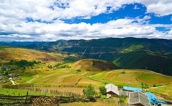 Yunnan China slope farming by Calvin Chan
