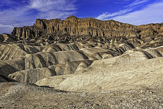 Zabriskie Point Badlands View by Bill Boehm