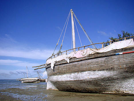 Zanzibar boat 21 by Giorgio Darrigo