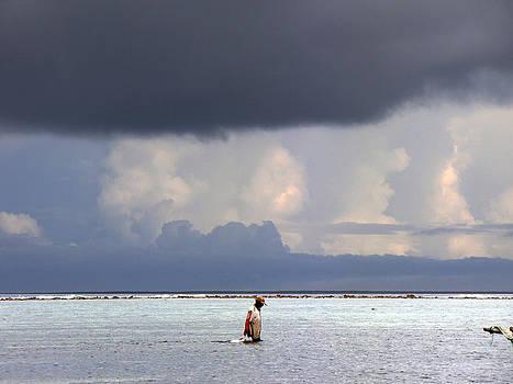Zanzibar fisherman by Giorgio Darrigo