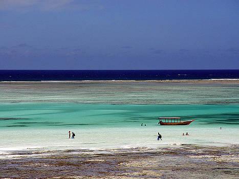 Zanzibar reef 02 by Giorgio Darrigo