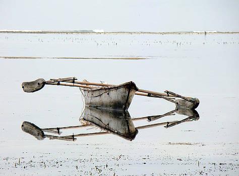 Zanzibar sailboat by Giorgio Darrigo