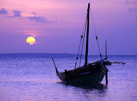 Zanzibar sunset 14 by Giorgio Darrigo