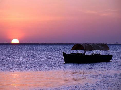 Zanzibar sunset 15 by Giorgio Darrigo