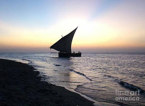 Zanzibar sunset 20 by Giorgio Darrigo