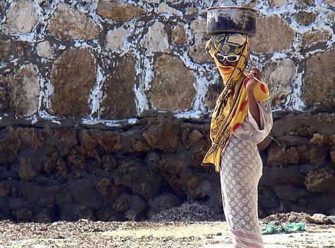 Zanzibar woman 05 by Giorgio Darrigo