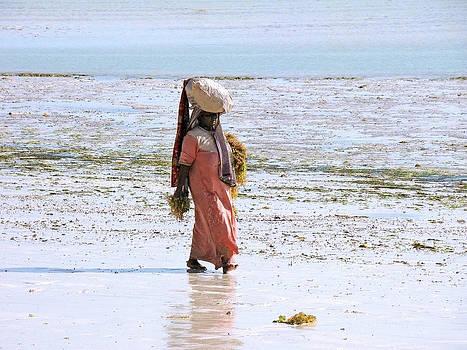 Zanzibar woman 28 by Giorgio Darrigo