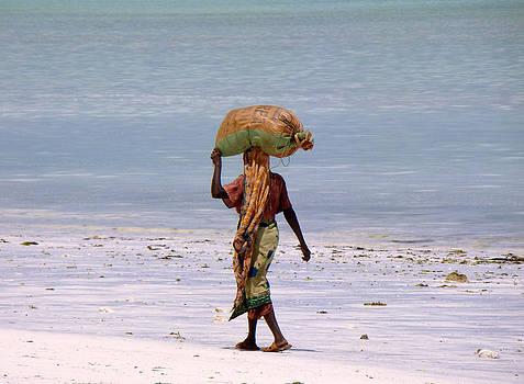 Zanzibar woman 31 by Giorgio Darrigo