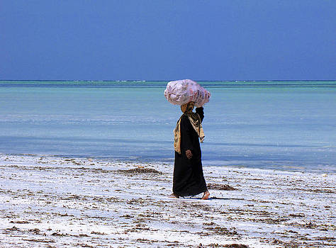 Zanzibar woman 34 by Giorgio Darrigo