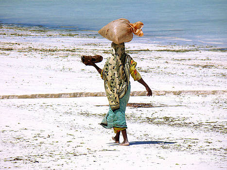 Zanzibar woman37 by Giorgio Darrigo
