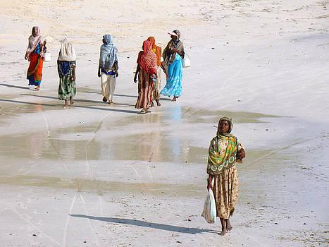 Zanzibar women 01 by Giorgio Darrigo