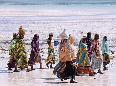 Zanzibar women 23 by Giorgio Darrigo