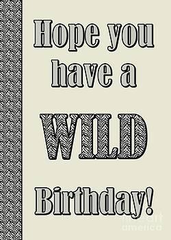 JH Designs - Zebra Birthday