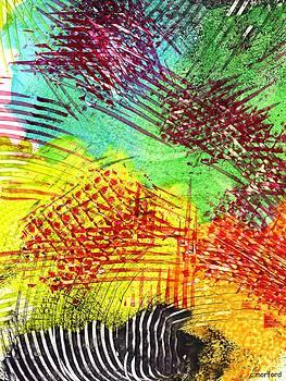 Zebra Daydream by Charles Morford