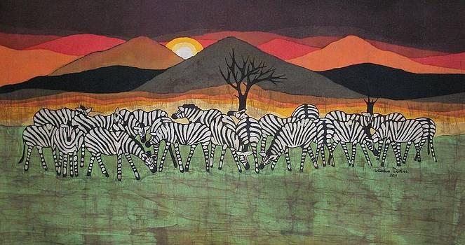 Zebra gatherings by Lukandwa Dominic