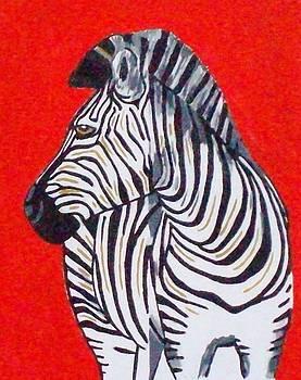 Zebra by Lynette  Swart