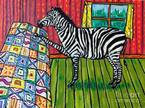 Zebra Quilting by Jay  Schmetz